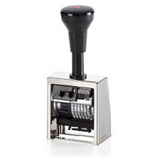 Inseriator automat cu Datiera Reiner, tip B6 metalic, 6 cifre, uz intens