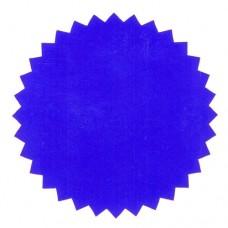 Eticheta albastra pentru timbru sec – folie PVC