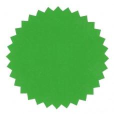 Eticheta verde pentru timbru sec – folie PVC